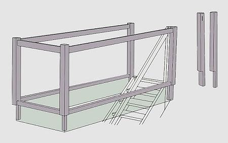 Absturzsicherung Geländer tischlerei treppen und geländer absturzsicherung geländer buche
