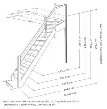 tischlerei treppen und gel nder nebentreppe mit sprossen gel nder au en 1 4 wendelung oben. Black Bedroom Furniture Sets. Home Design Ideas