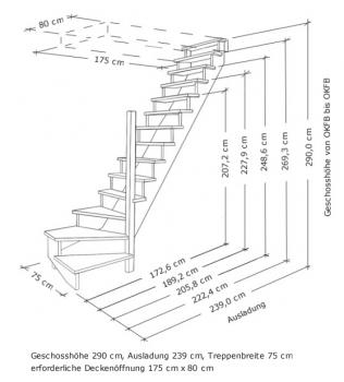 tischlerei treppen und gel nder aufgesattelte nebentreppe aus fichte mit gel nder holz sprossen. Black Bedroom Furniture Sets. Home Design Ideas