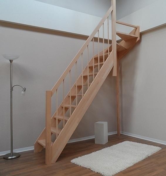 tischlerei treppen und gel nder nebentreppe mit gel nder handlauf sprossen holz rundstab 1 4. Black Bedroom Furniture Sets. Home Design Ideas