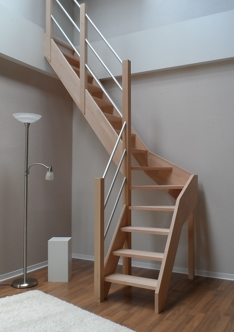 tischlerei treppen und gel nder treppe wangentreppe nebentreppe raumspartreppe 1 4. Black Bedroom Furniture Sets. Home Design Ideas