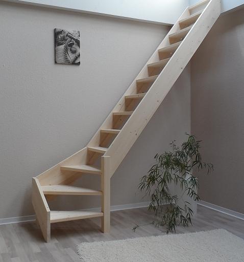 tischlerei treppen und gel nder raumspartreppe ohne. Black Bedroom Furniture Sets. Home Design Ideas