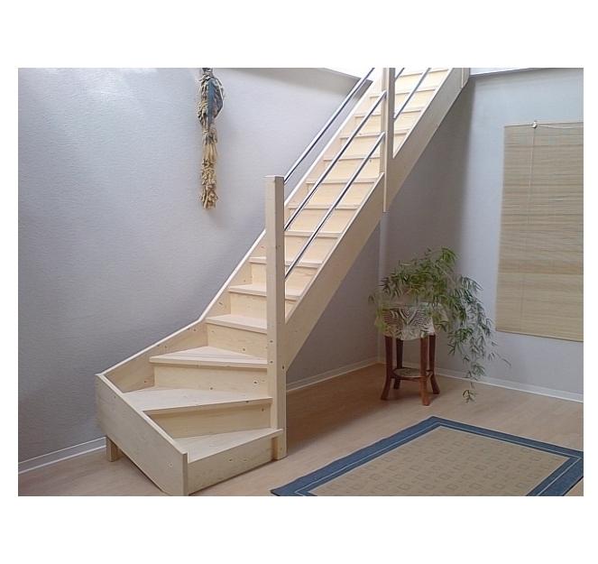 Treppe Mit Setzstufen tischlerei treppen und geländer 1 4 gewendelte nebentreppe