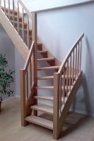 tischlerei treppen und gel nder geschosstreppe f r. Black Bedroom Furniture Sets. Home Design Ideas